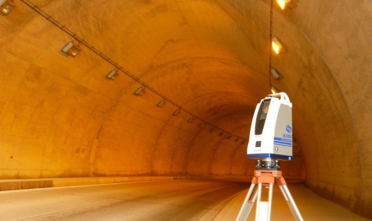 地上レーザー点群測量